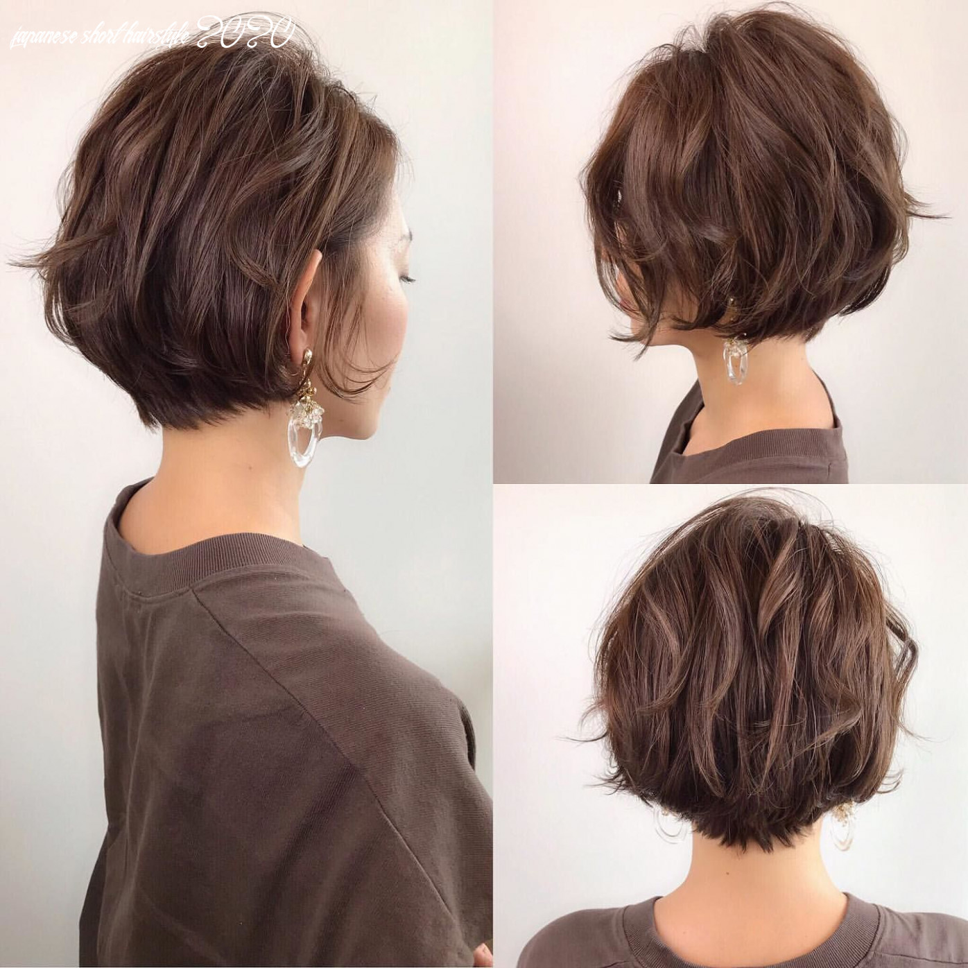 Japanese hairstyle design has always had its characteristics so