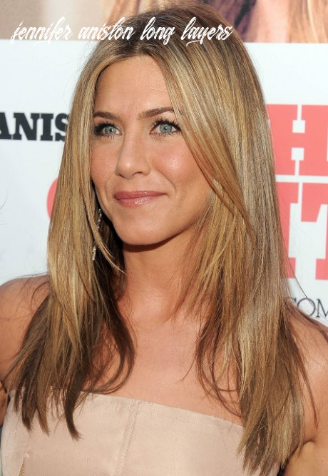 Jennifer Aniston Long Straight Hairstyle with Layers - Hairstyles ...