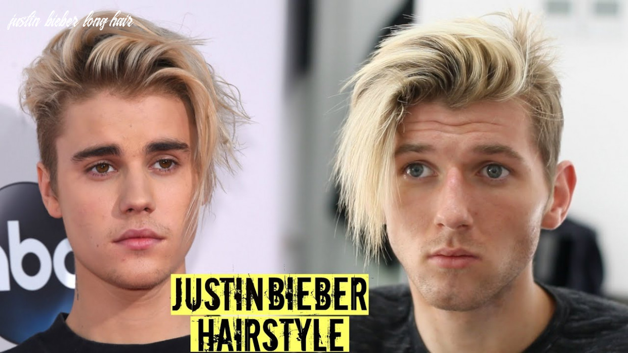Justin Bieber Hairstyle & Haircut Tutorial 9 - Mens Long Hair Style