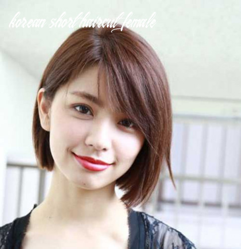 8 Korean Short Haircut Female Undercut Hairstyle