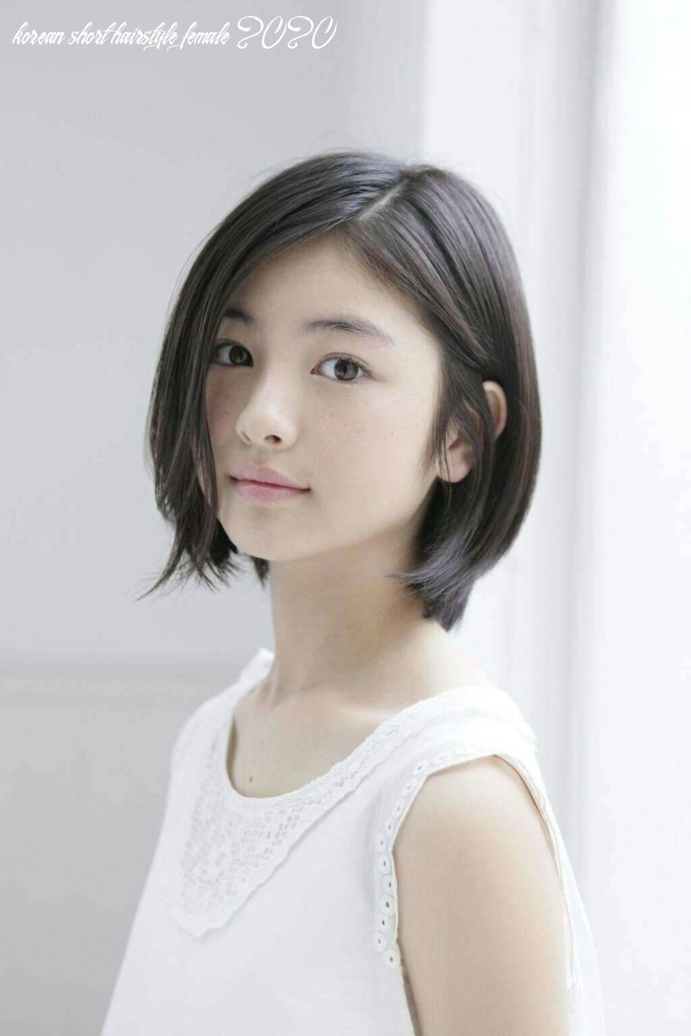 Korean Short Haircuts for Round Faces - 12+