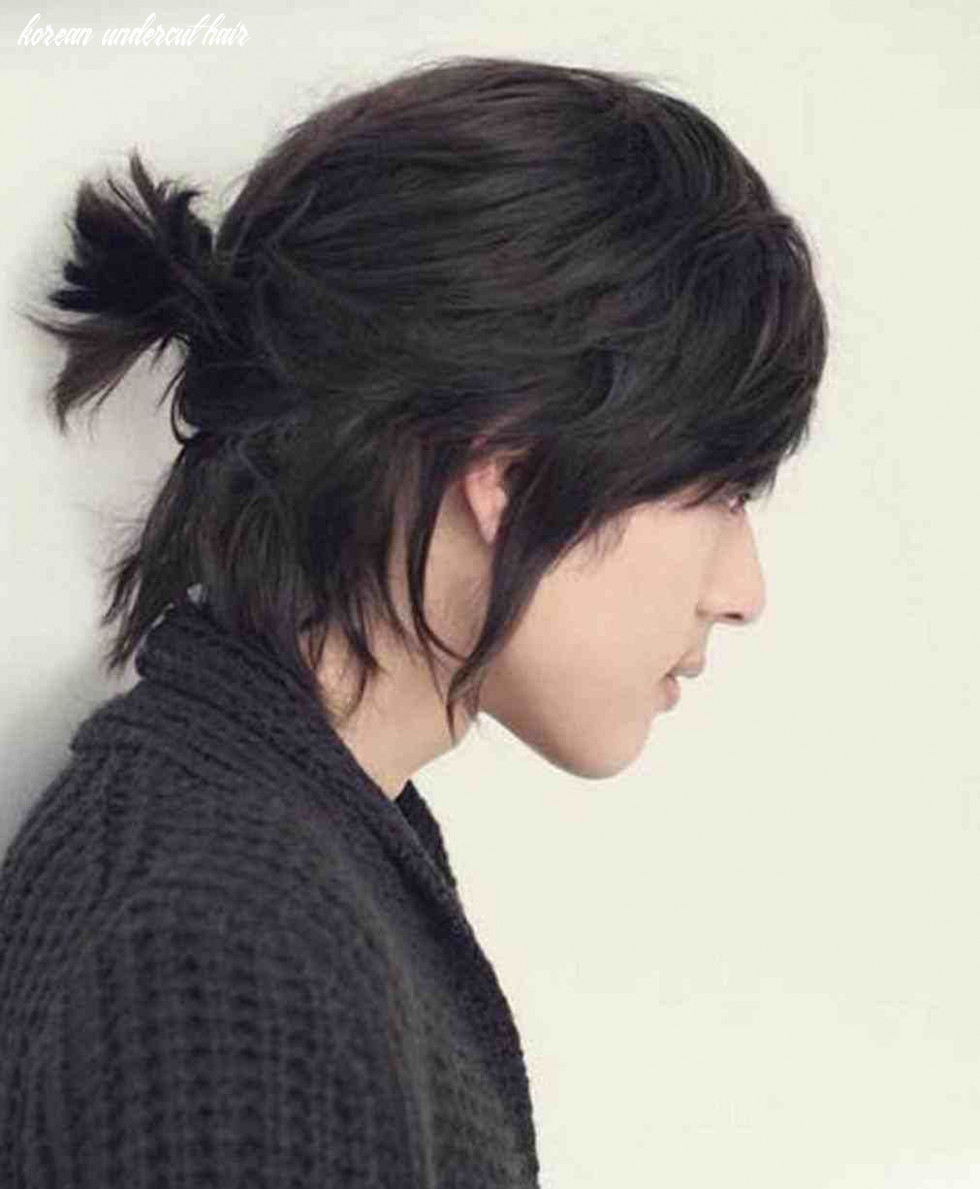 Korean undercut hairstyle for men 9 (with images)   long hair