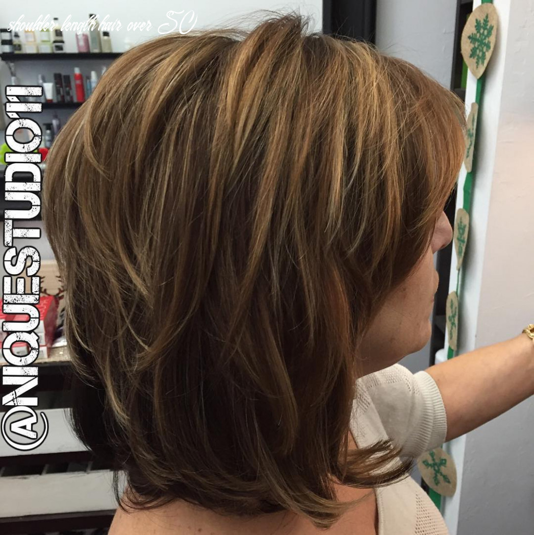 Layered Hairstyles Over 10