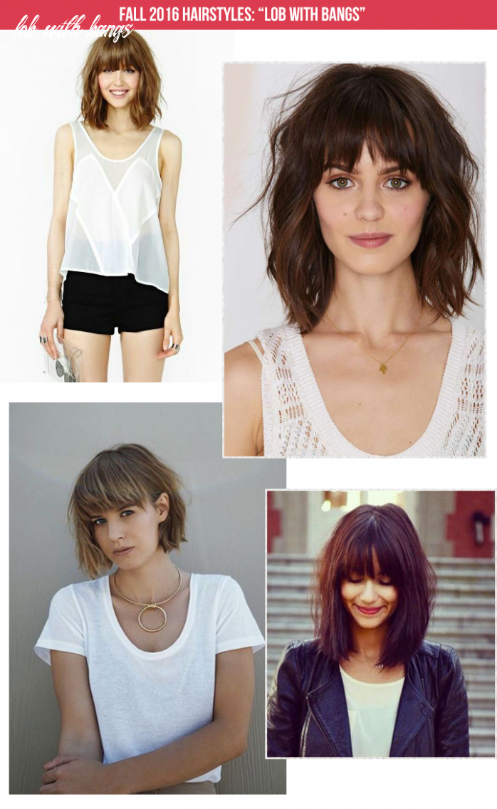 Lob with bangs: fall 11 hairstyle the mombot lob with bangs
