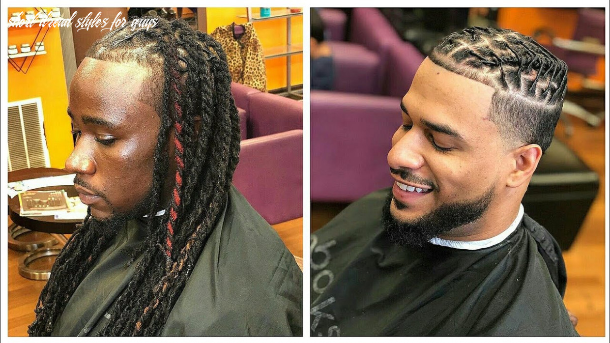 Loc retwist | dreadlocks styles for men by the grooming artist | compilation #10 short dread styles for guys