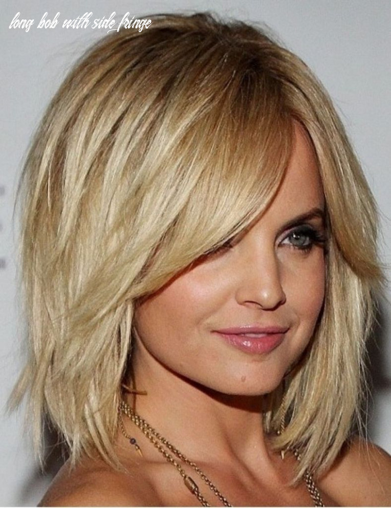 Long Bob With Layers And Side Bangs How To Style Side Swept Bangs ...