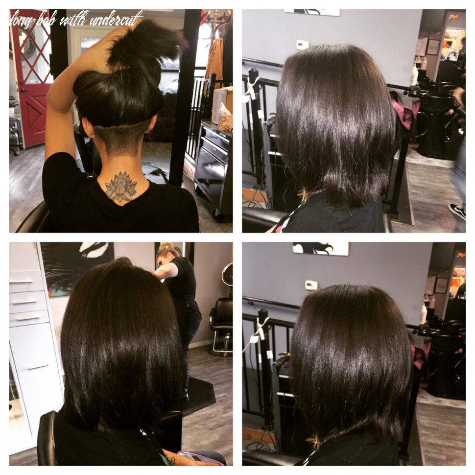 Long bob with undercut | find your perfect hair style long bob with undercut