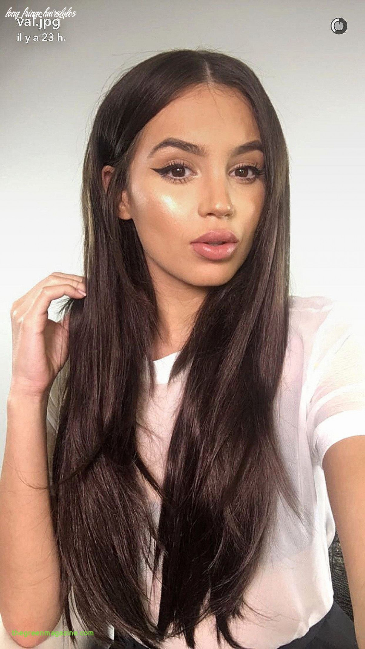 Long Fringe Hairstyles Inspirational Awesome Round Face Haircut ...