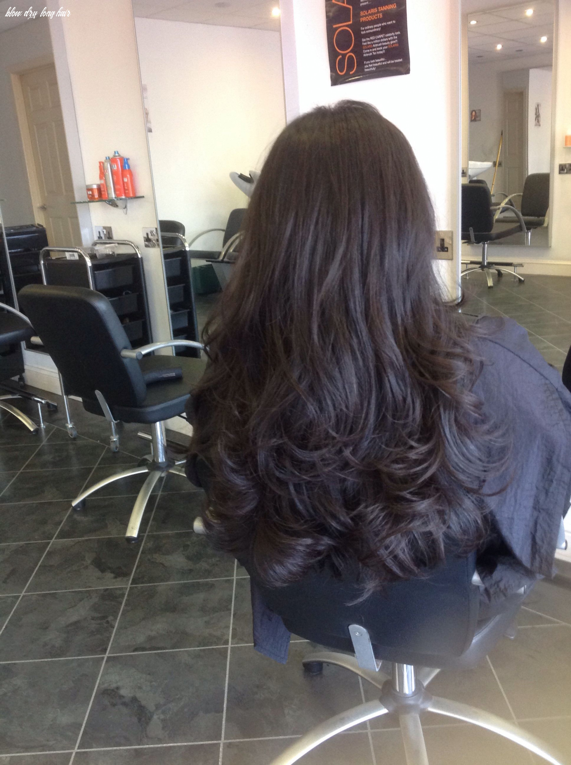 Long hair bouncy blow wave (with images)   bouncy hair, dry long