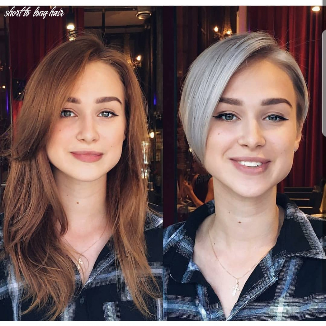 Long Hair to Short Hair Before and After, Short Hairstyles for ...