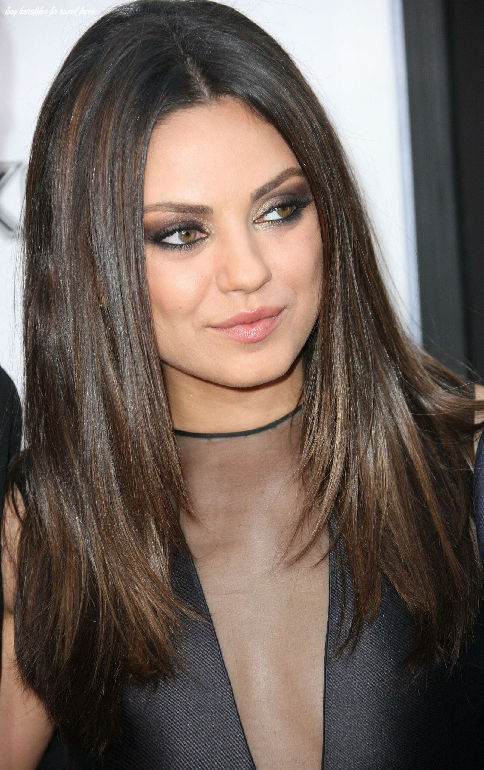 Long haircuts for round faces | hairstyles featured hairstyles