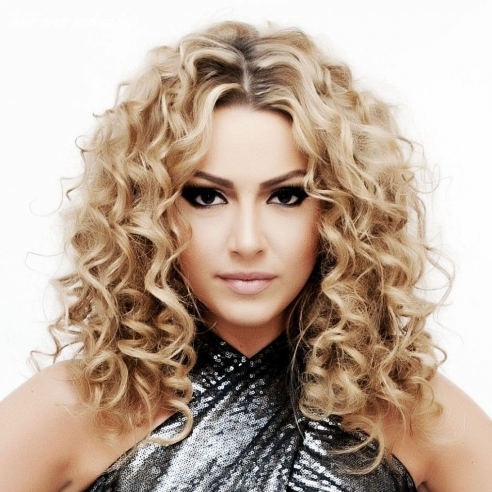 Loose curl hairstyles for medium hair inspirational loose perm