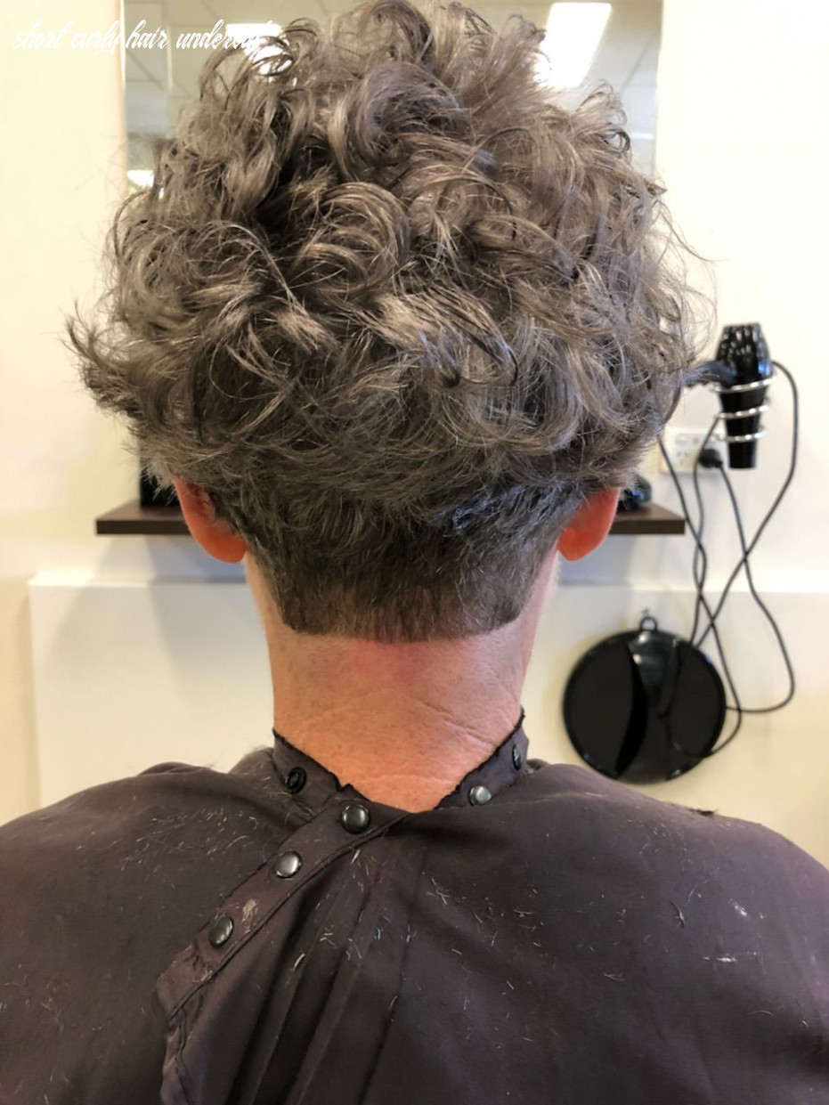 Love an undercut plus lots of volume :) (with images)   short