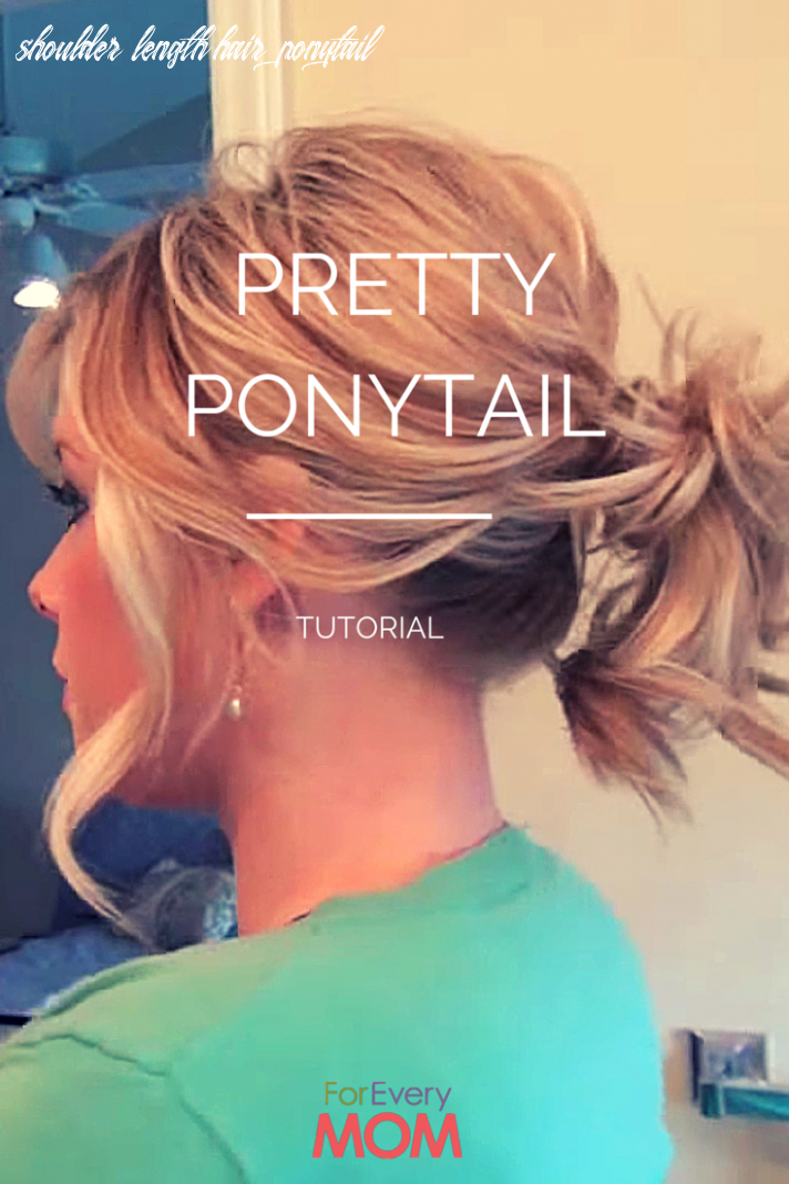 Love this hair tutorial for a pretty ponytail hairstyle! works for