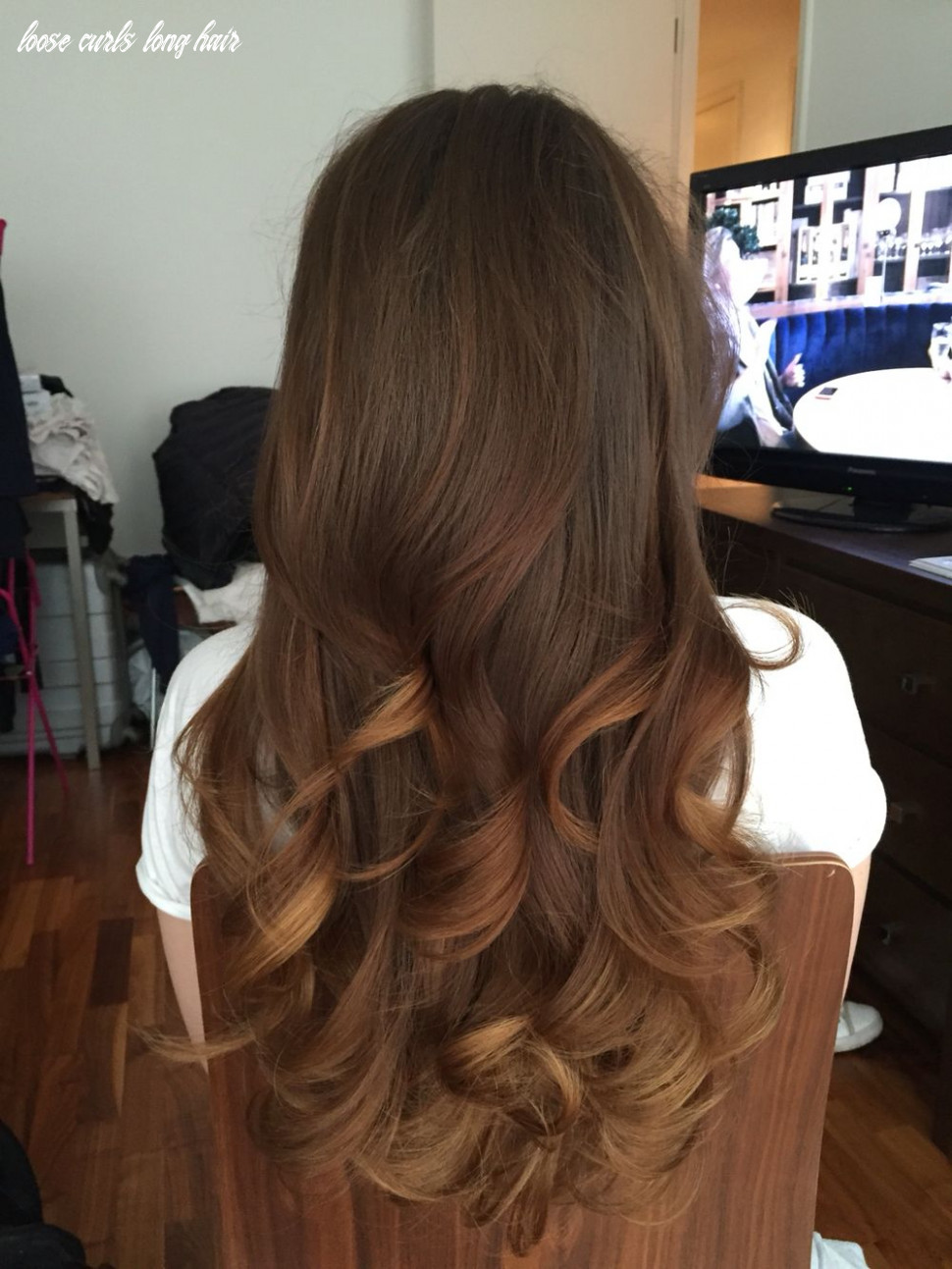 Loving these long loose waves | curls for long hair, loose curls