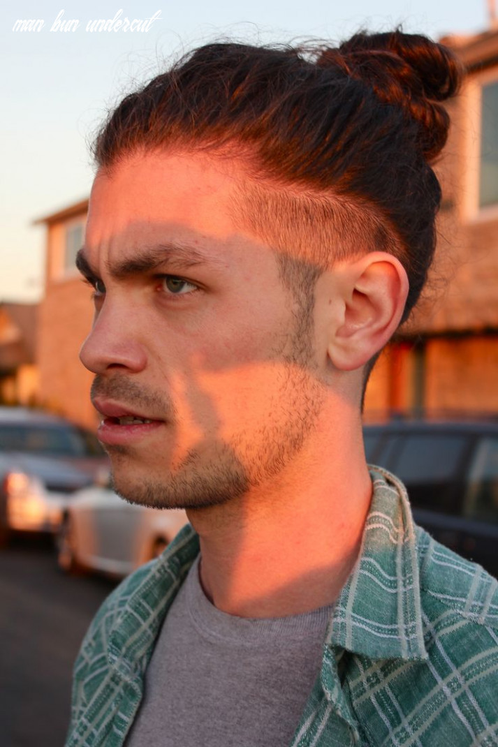 Man bun undercut hairstyle official guide with pictures, how to