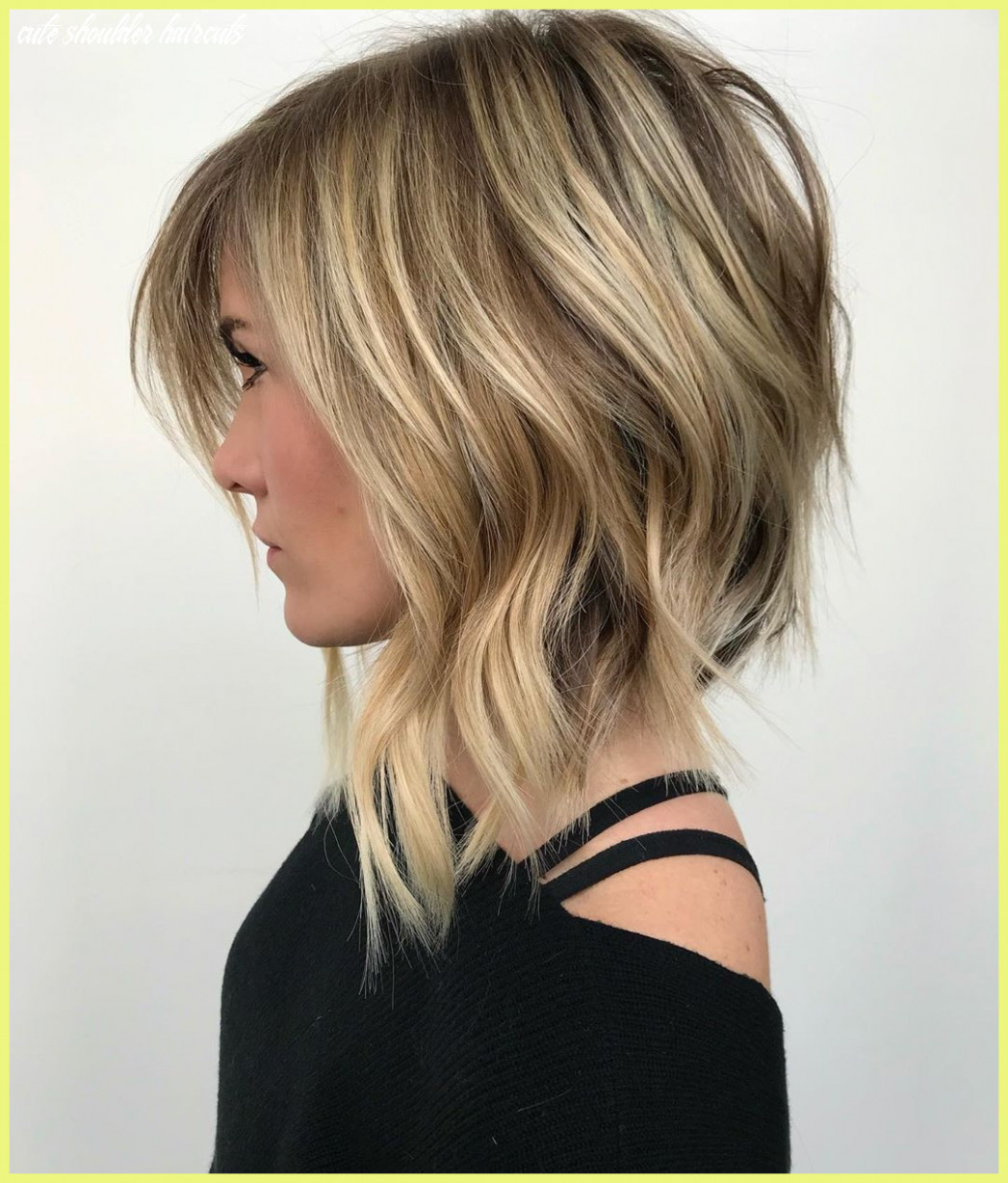 Med Length Haircuts 9 Ridiculously Cute Shoulder Length ...