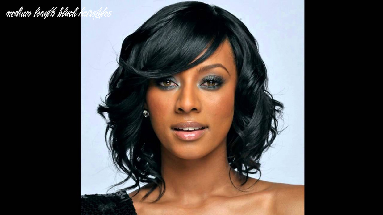 Medium hairstyles for african american hair medium length black hairstyles