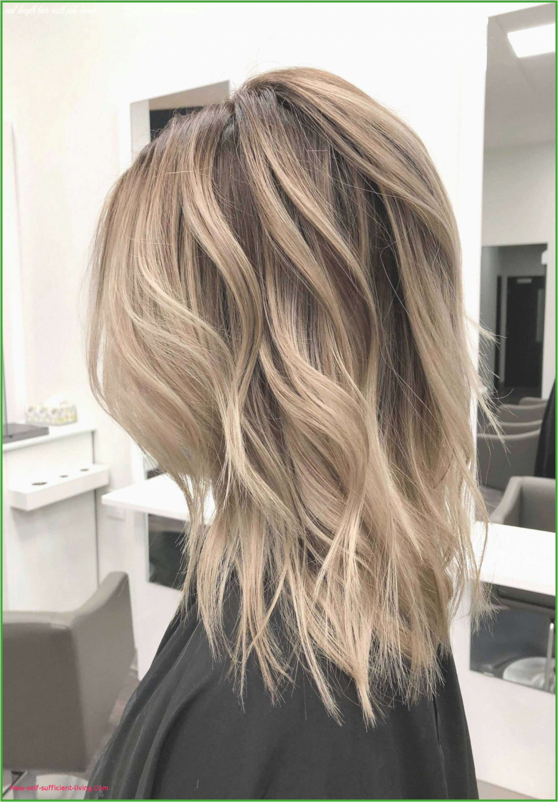 Medium Length Hair with Side Bangs Fresh Unique Hairstyles for ...
