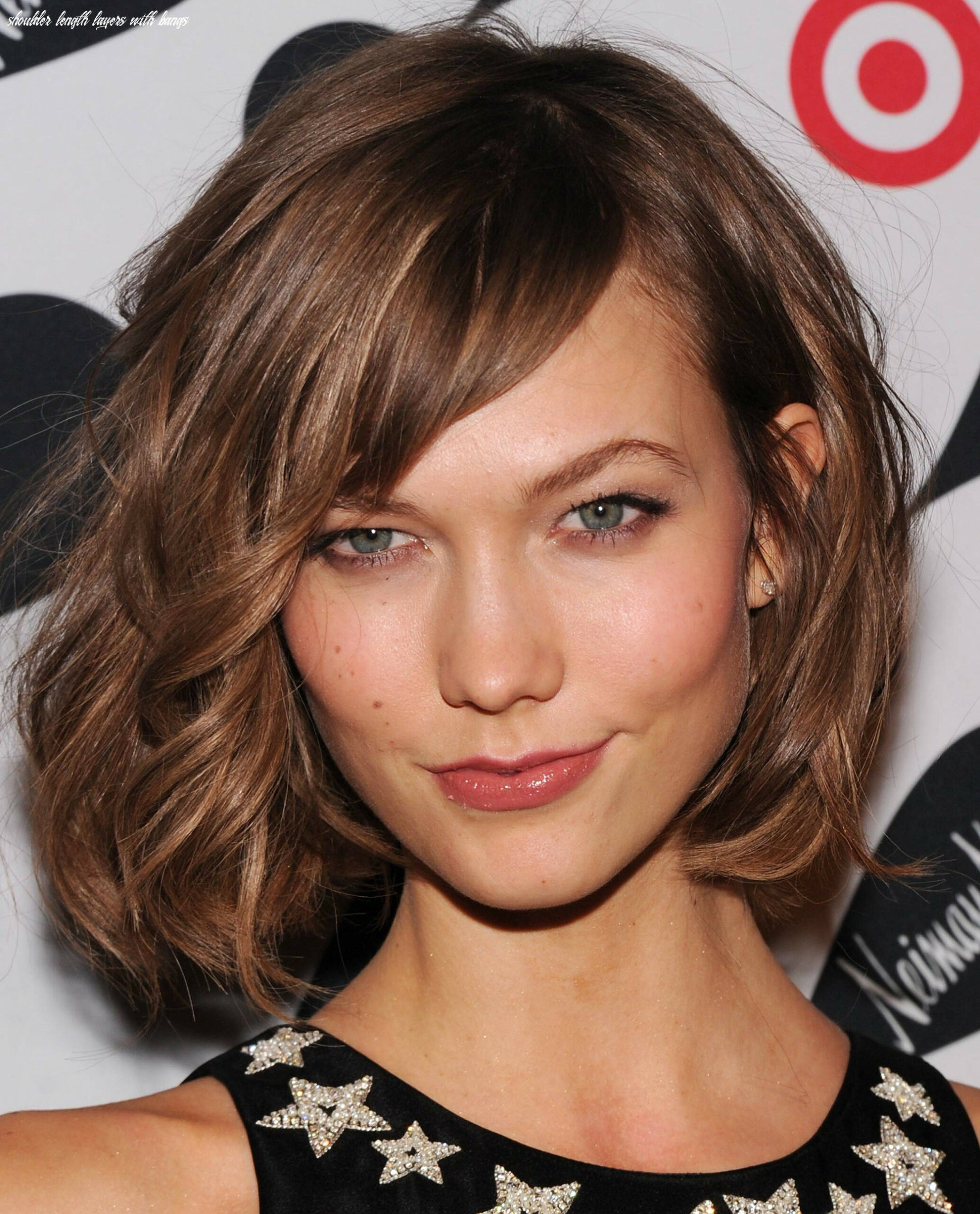 Medium Length Haircuts with Bangs and Layers - Women Hairstyles
