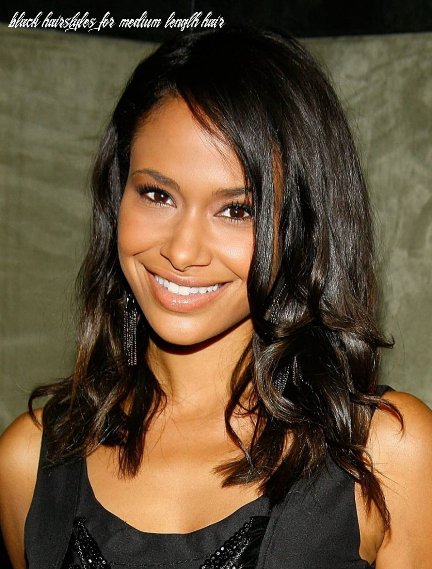 Medium Length Hairstyles For Black Women Better Length Hair For ...