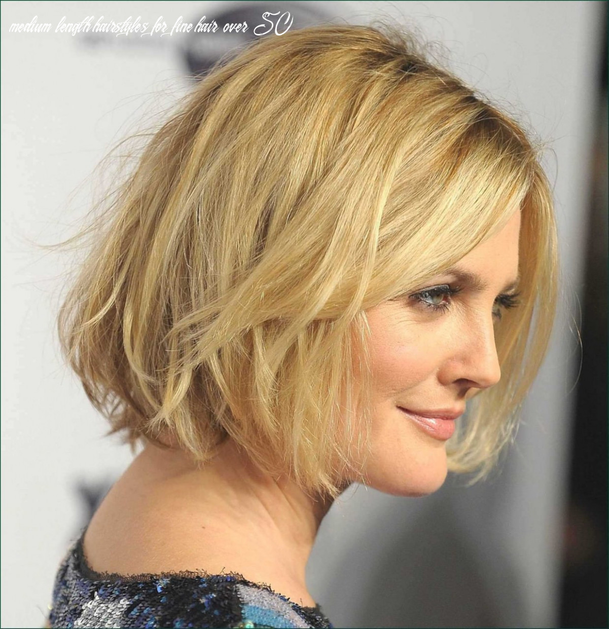 Medium Length Hairstyles for Fine Hair Over 11 Unique Medium Shag ...