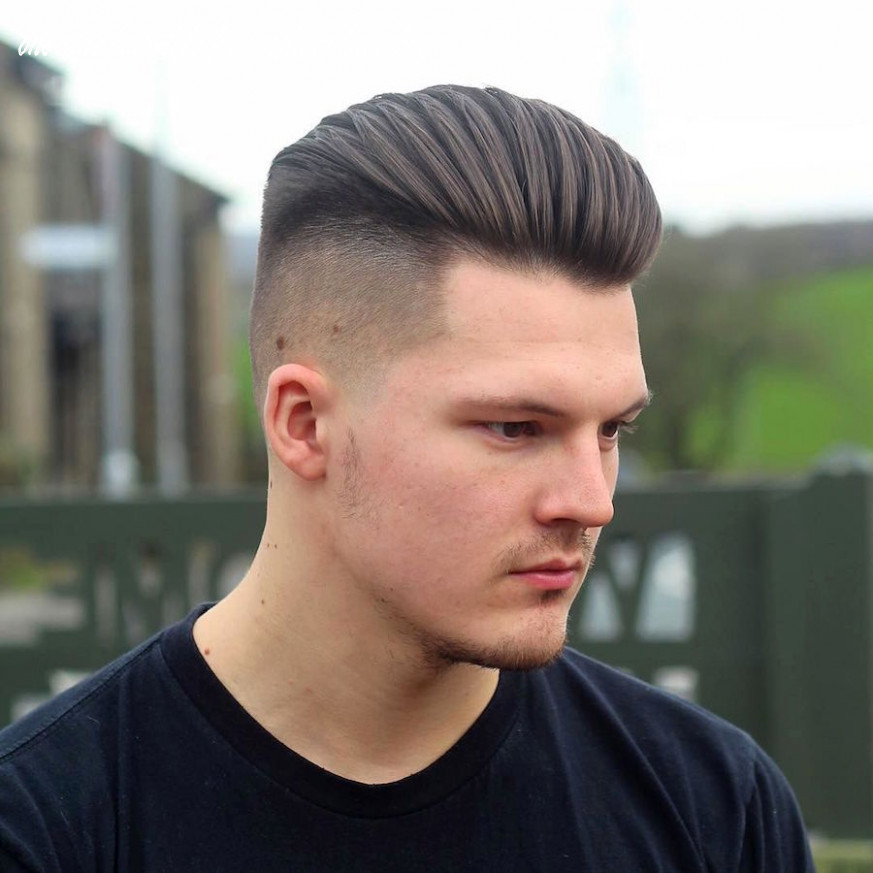 Medium length hairstyles for men: 10 styles for 10 one side hairstyle for medium hair boy