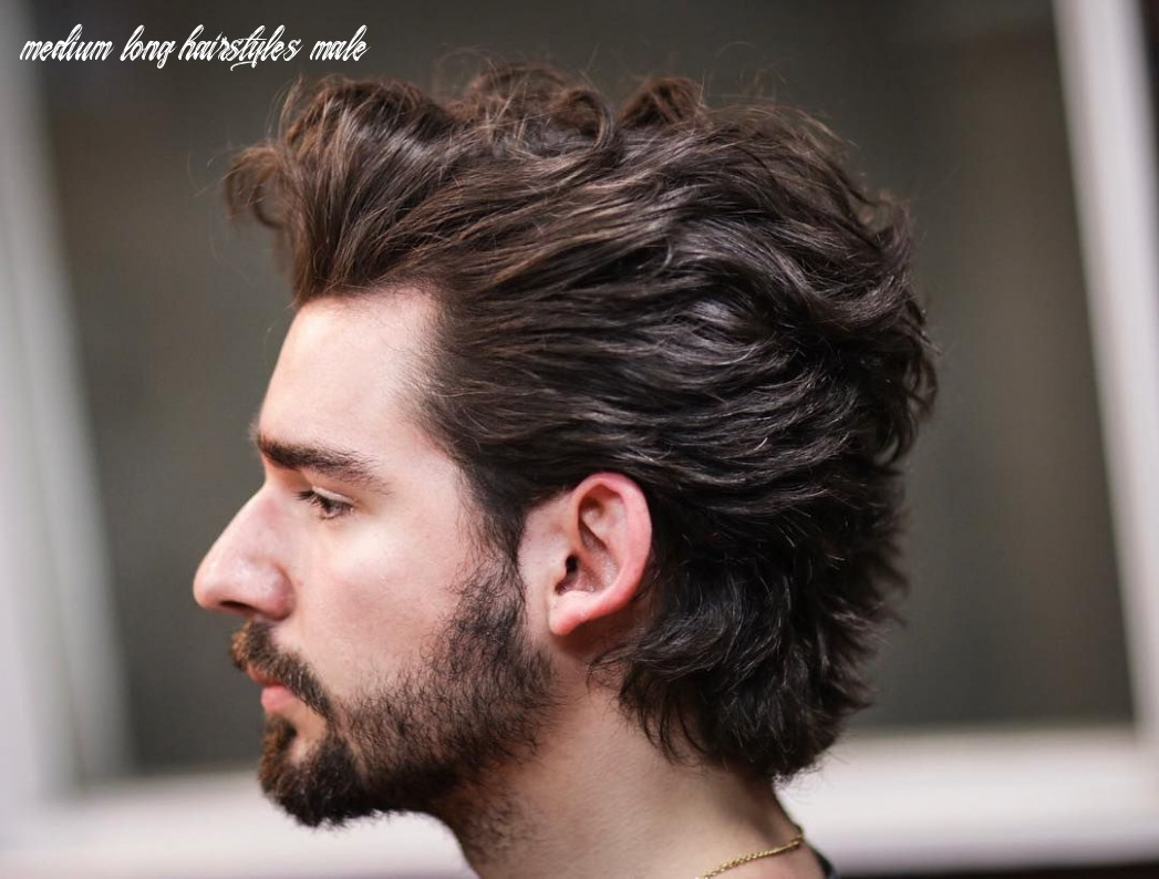Medium length hairstyles for men inspirational cool men s medium