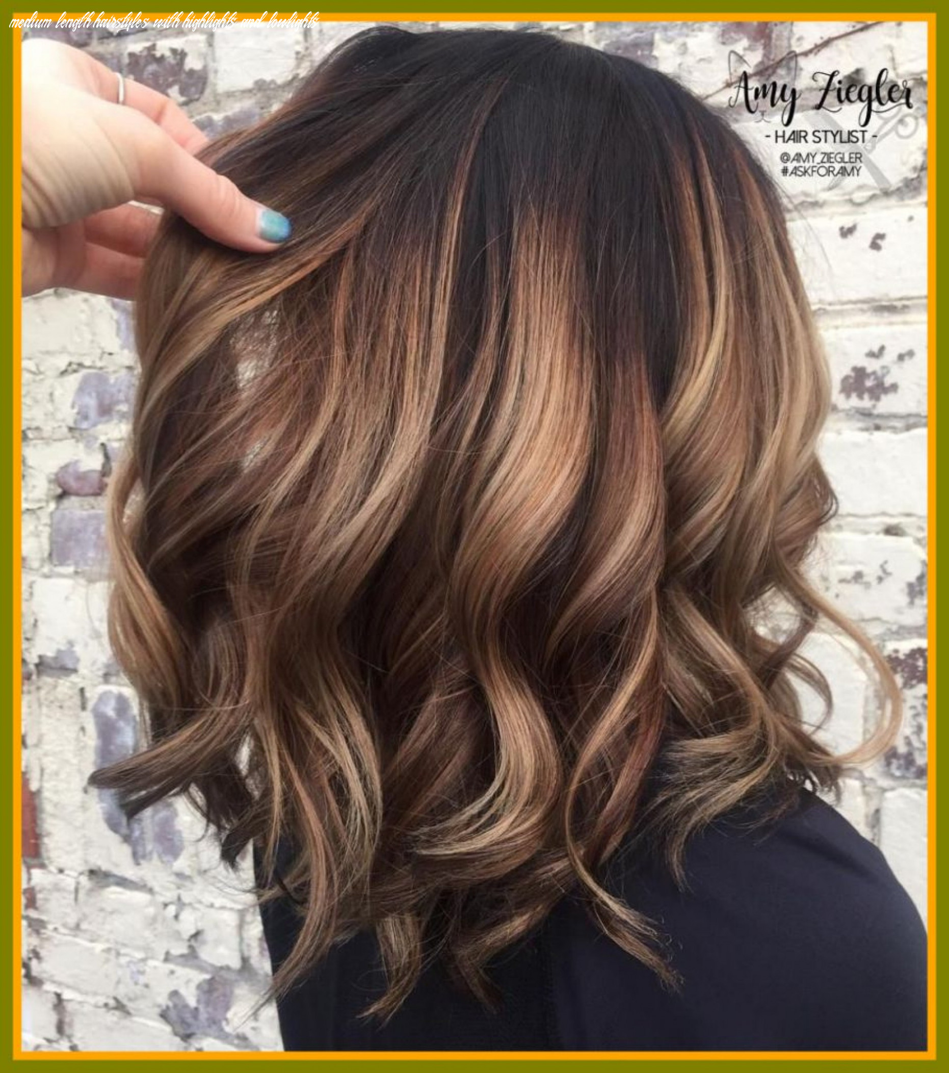 Medium Length Hairstyles with Highlights and Lowlights Best Of ...