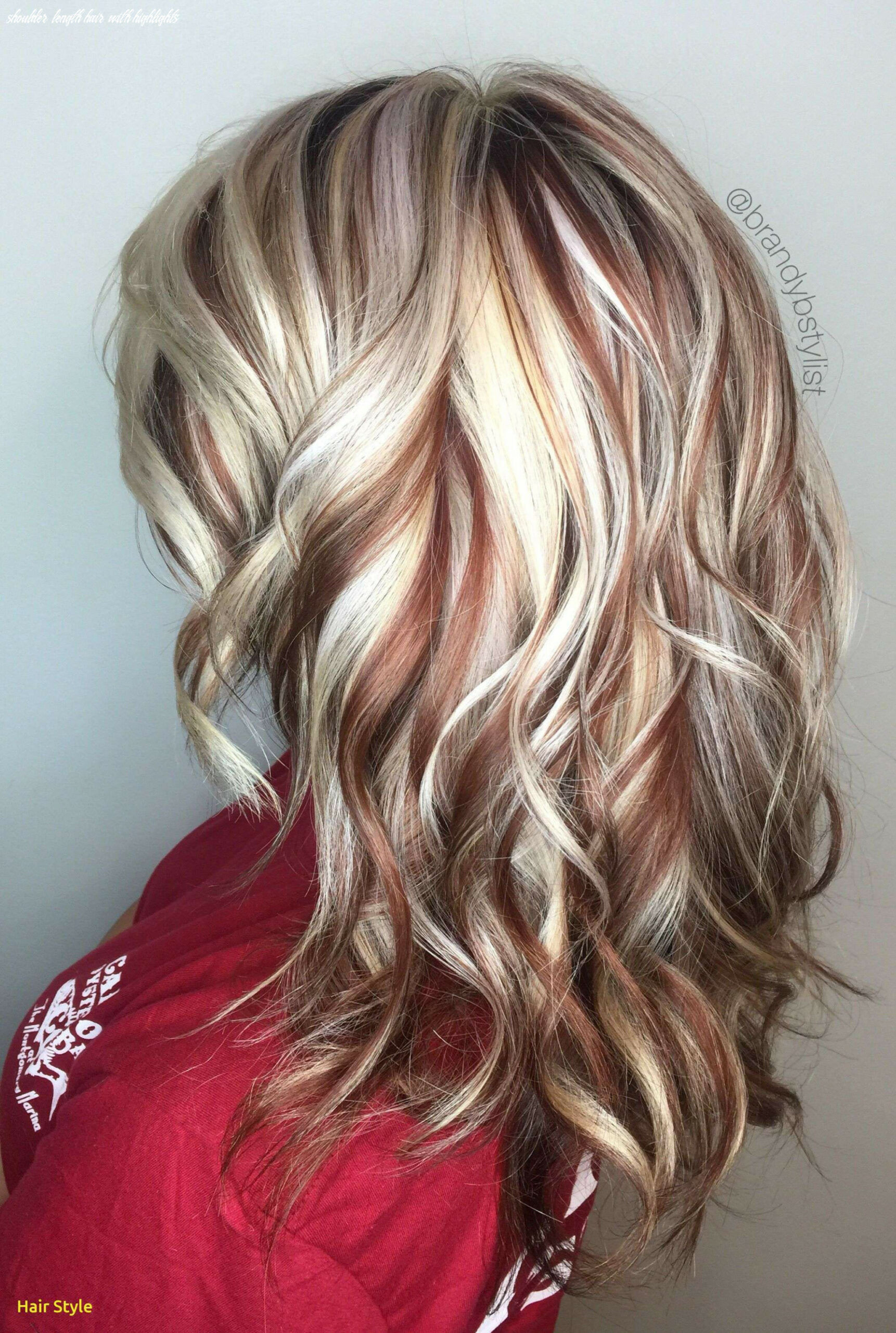 Medium length hairstyles with highlights awesome luxury hair