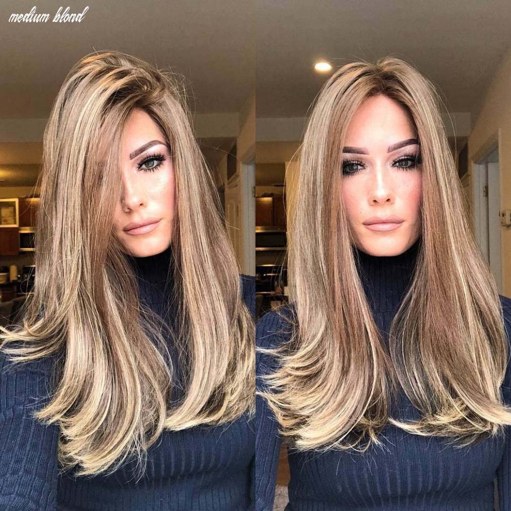 Medium long blond hair – Oomfz
