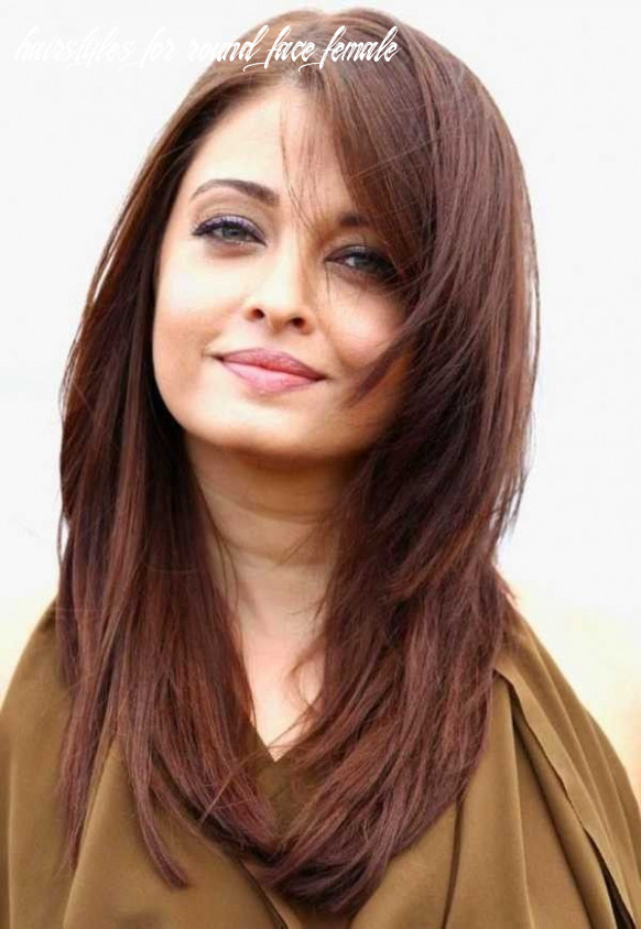 Medium to long hairstyles for women with round faces | frisuren