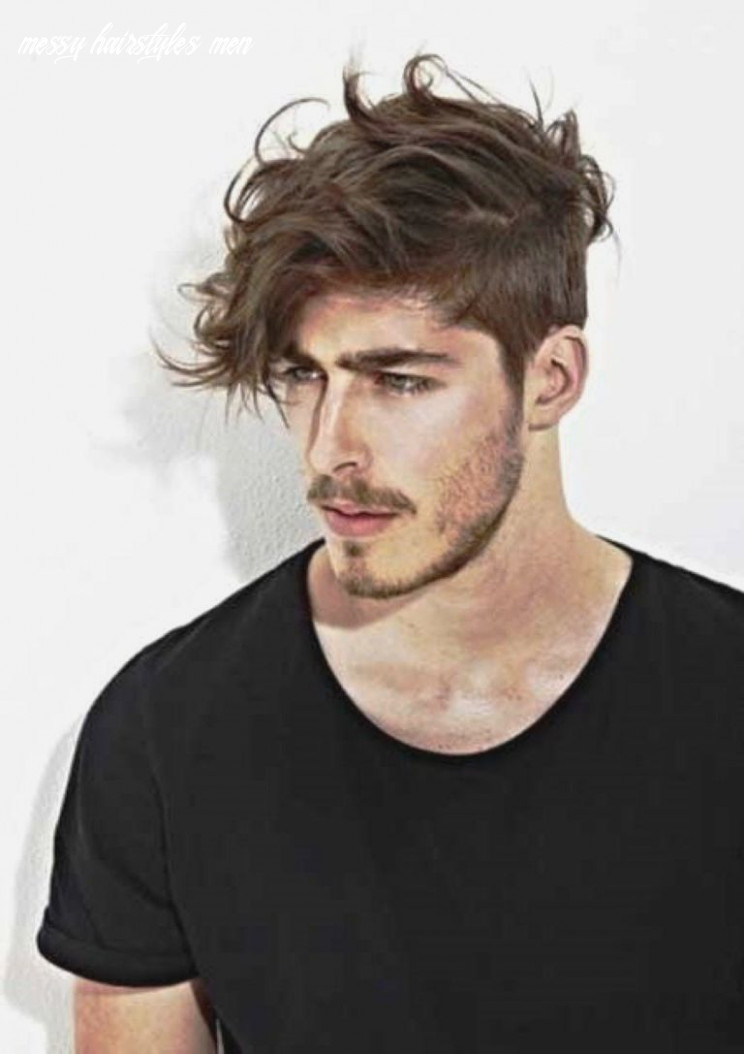Men Haircut 11 Wavy Messy Hairstyles For Men 11Mens Haircuts ...