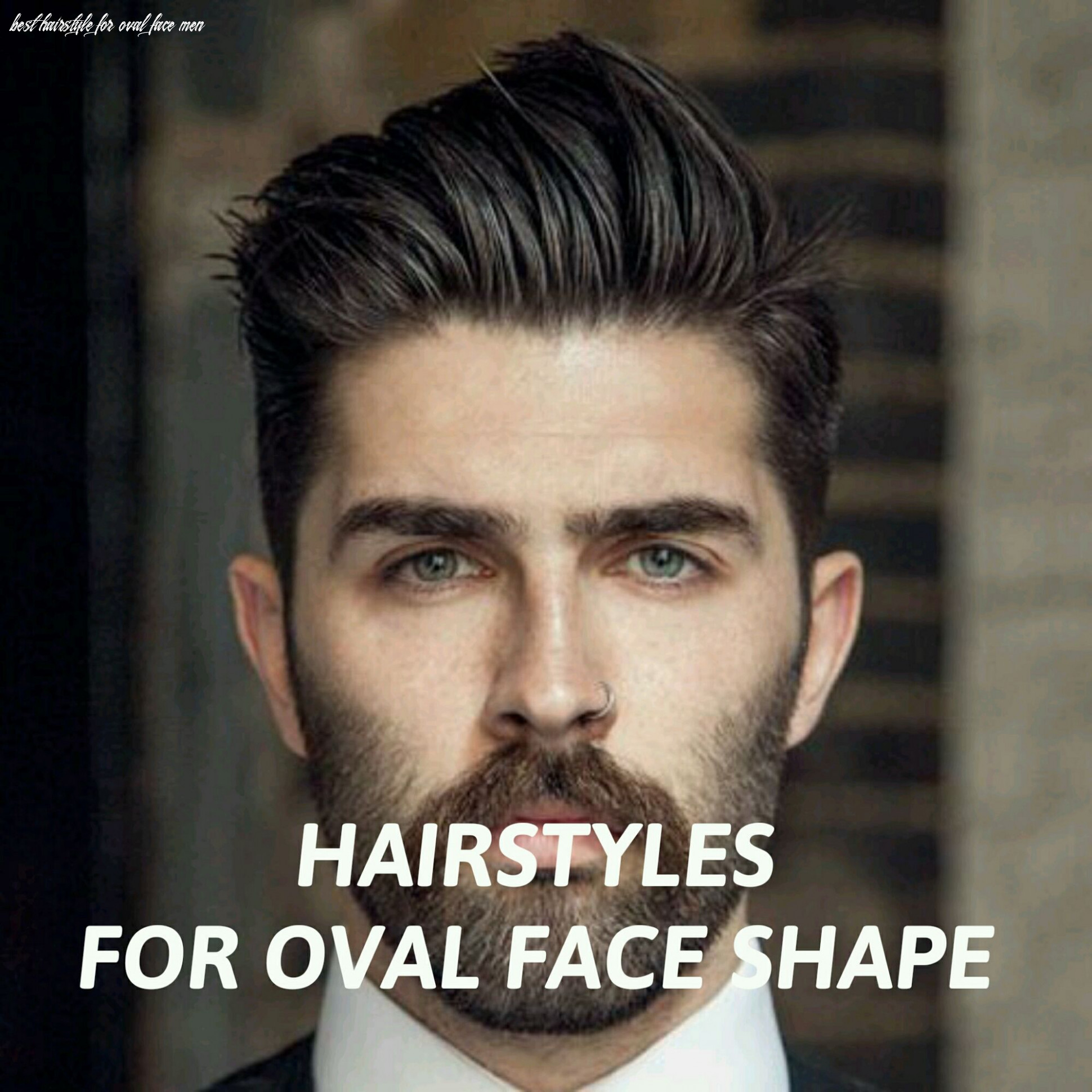 Men's Hairstyles For Oval Face Shape | Oval face hairstyles, Oval ...