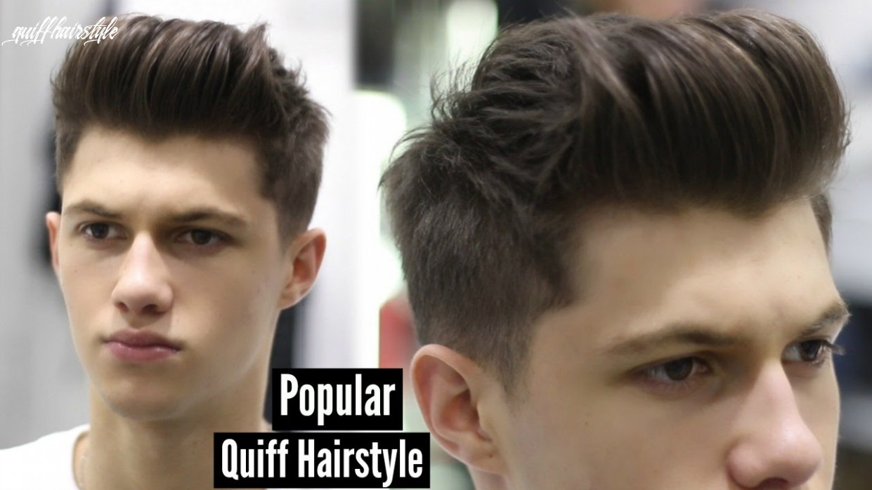 Mens haircut 8 modern quiff hairstyle tutorial #ad quiff hairstyle