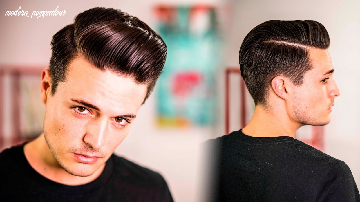 Mens hairstyle | how to style the perfect modern pompadour | 10 modern pompadour