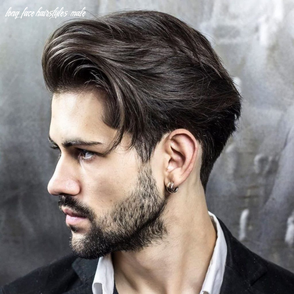 Mens hairstyles for long face shape and braidbarbers and zero fade
