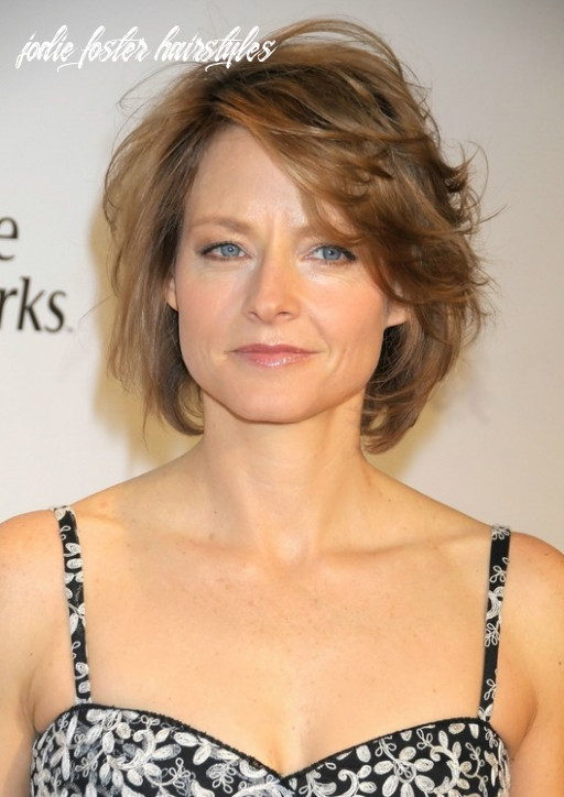 Messy Medium Bob – Natural and Trendy: Jodie Foster's Haircut ...