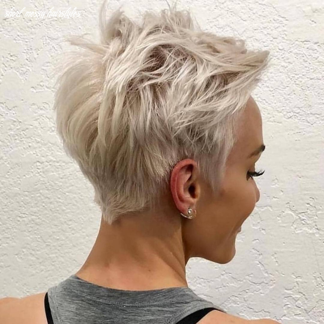 Messy pixie haircuts to refresh your face, women short hairstyles 11 short messy hairstyles
