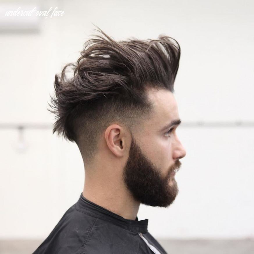 Messy pomp low fade | oval face haircuts, oval face hairstyles