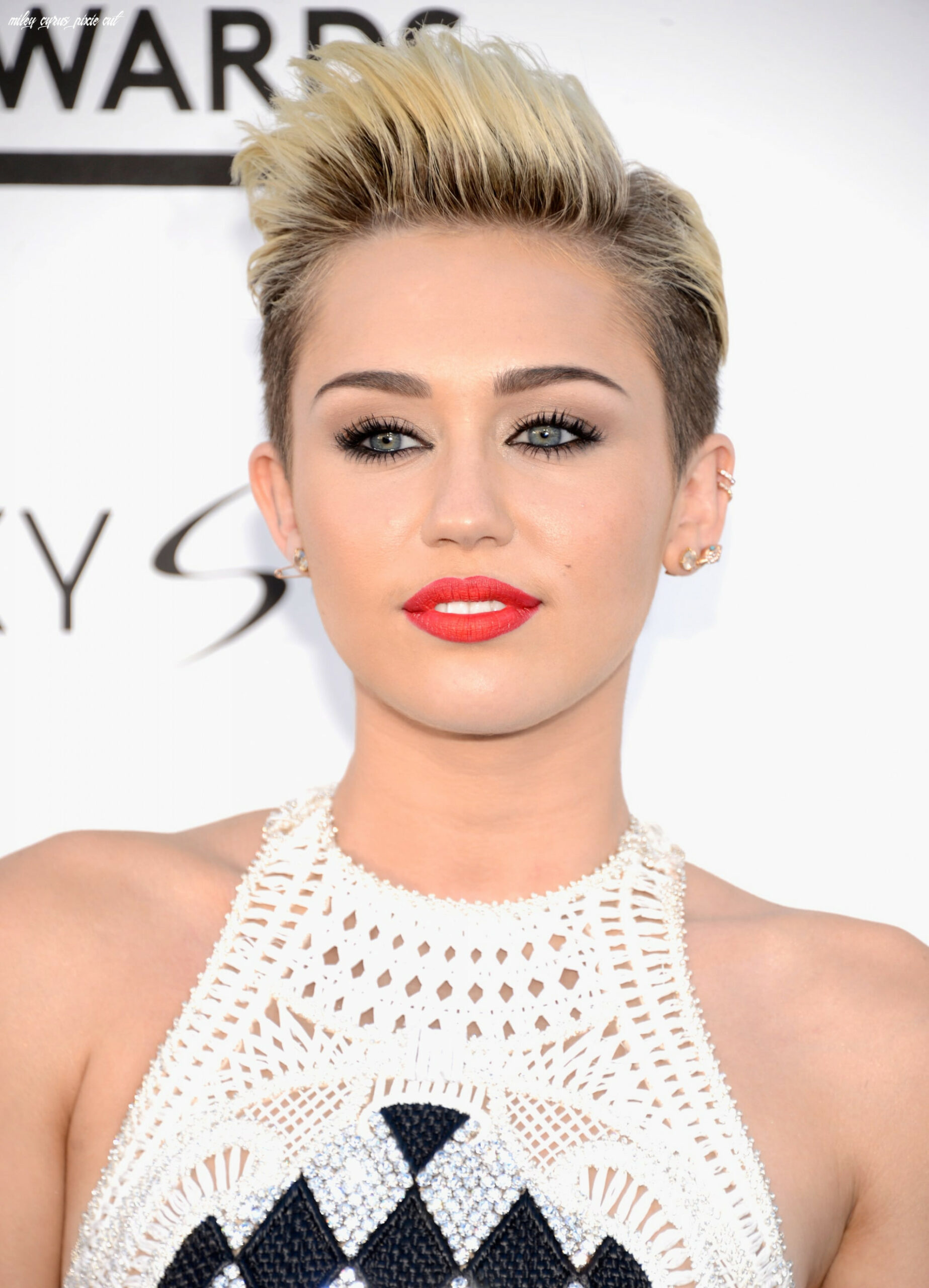 Miley cyrus with a pixie cut | 12 celebrity pixie haircuts that