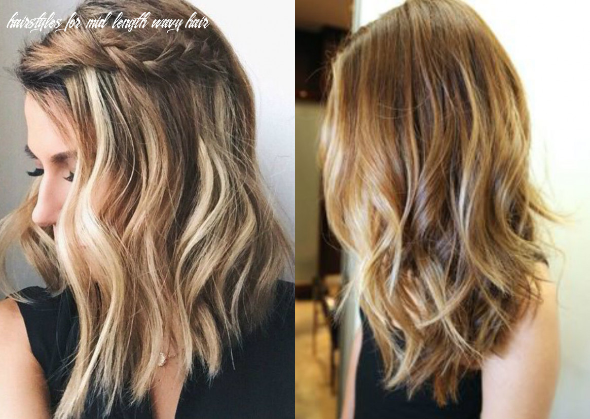 Mittlere frisuren archive still trends hairstyles for mid length wavy hair