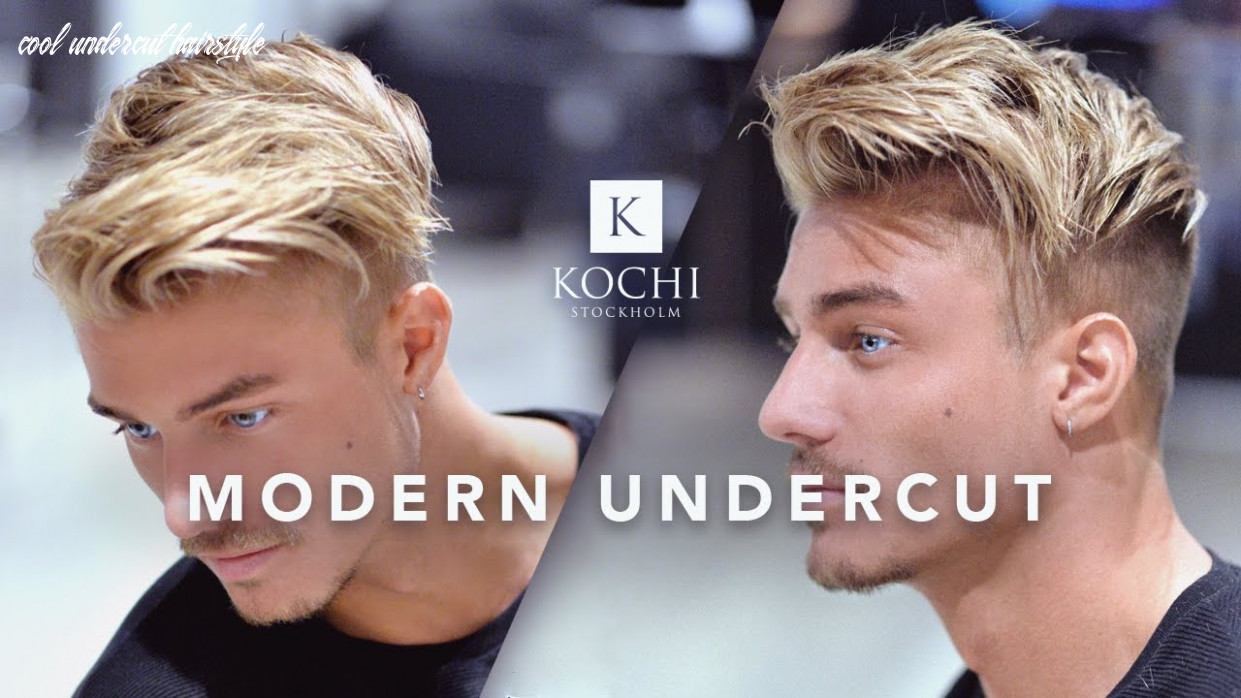 Modern undercut   cool and popular hairstyle   hair for men cool undercut hairstyle