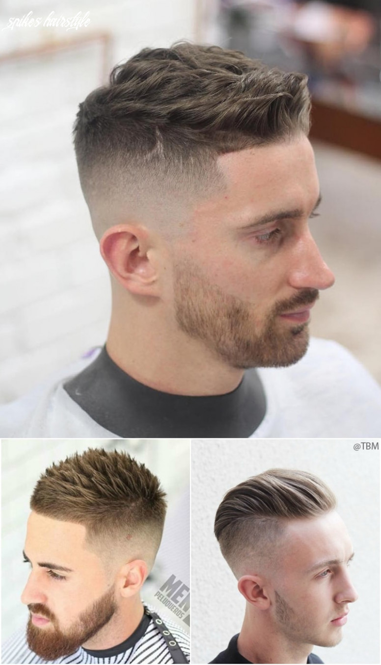 Most attractive spiky hairstyles for men top beauty magazines spikes hairstyle
