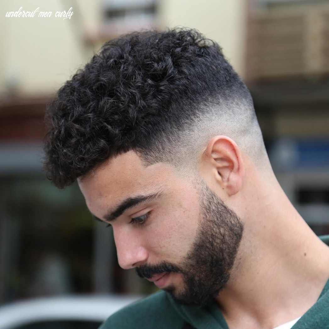 Most popular curly undercut for 11 ifashionguy undercut men curly