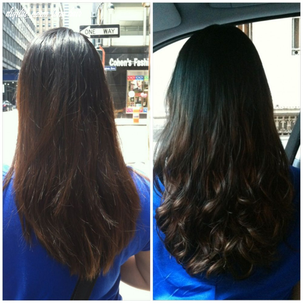 My before and after: digital perm (with images) | digital perm