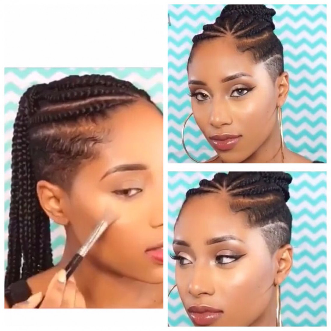 My next hairstyle cornrows with shaved sides and back | shaved