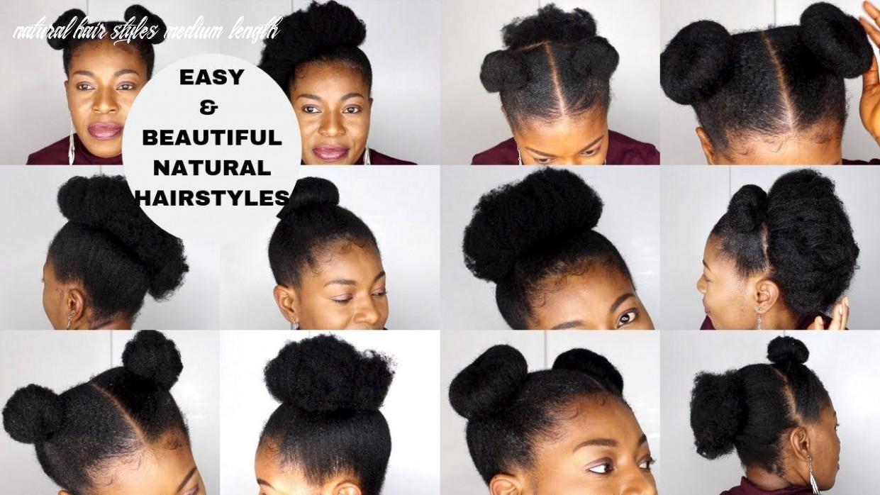 Natural Hairstyle Medium Length For Wedding - very easy natural ...