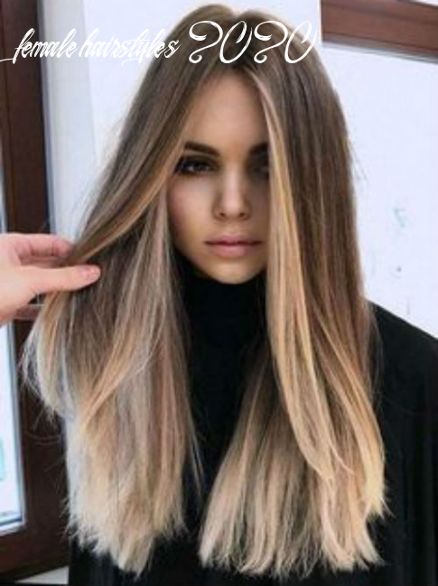 New head turning long straight balayage hairstyles 11 female you