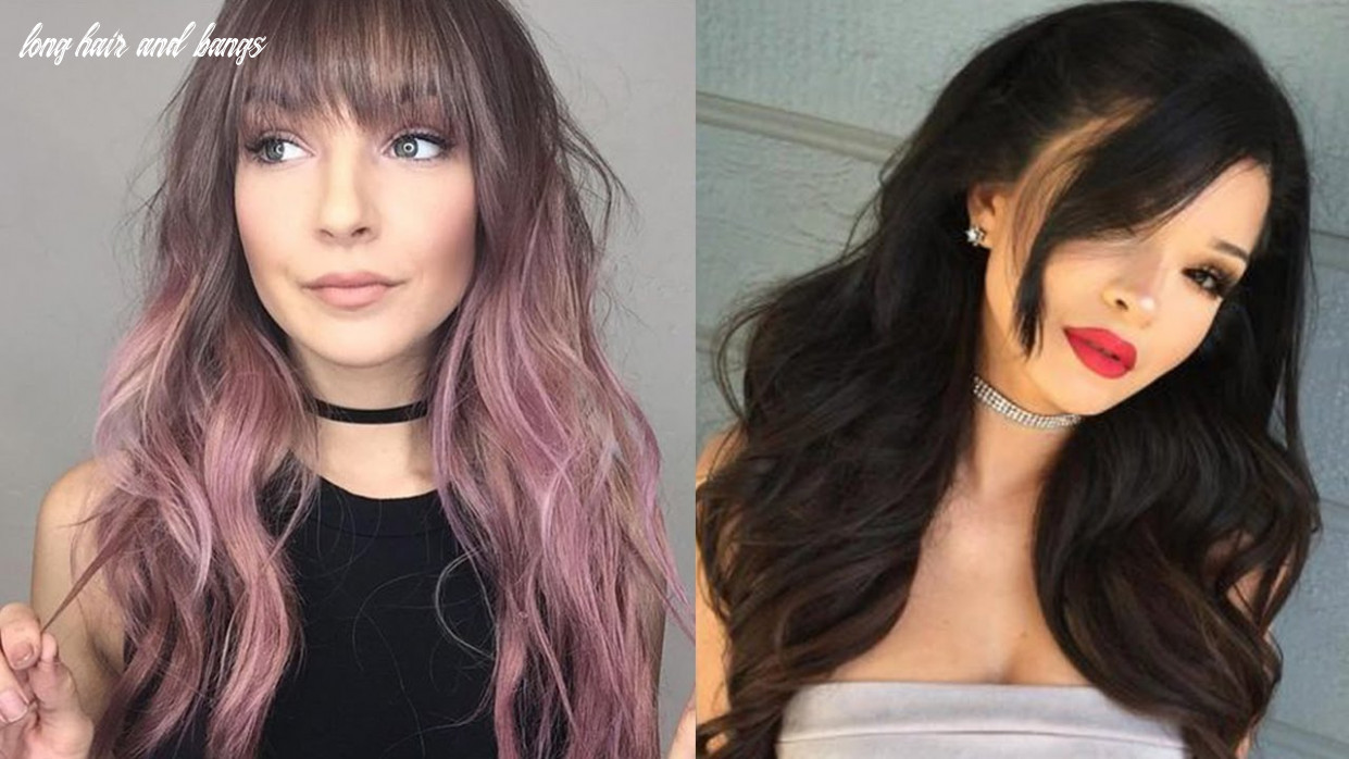 NEW LONG HAIRSTYLES WITH BANGS - LONG HAIR BANGS STYLE
